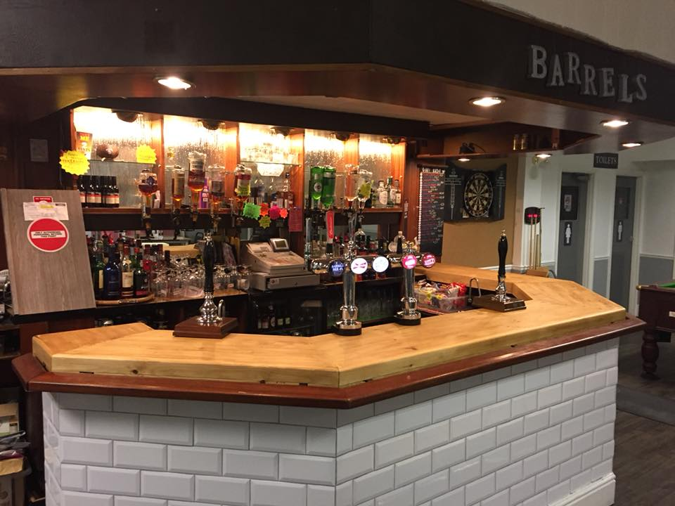 Barrels Bar in Rawtenstall
