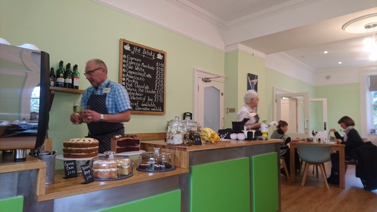 The Old Library Restaurant in Waterfoot