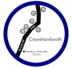 Crawshawbooth Food and Drink Guide Map