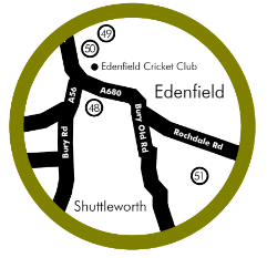 Edenfield Food and Drink Map