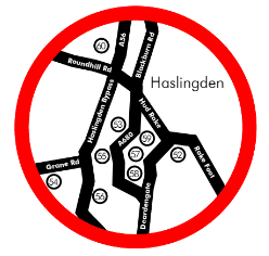 Haslingden Food and Drink Guide Map