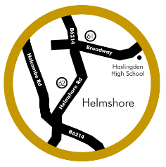 Helmshore Food and Drink Guide Map
