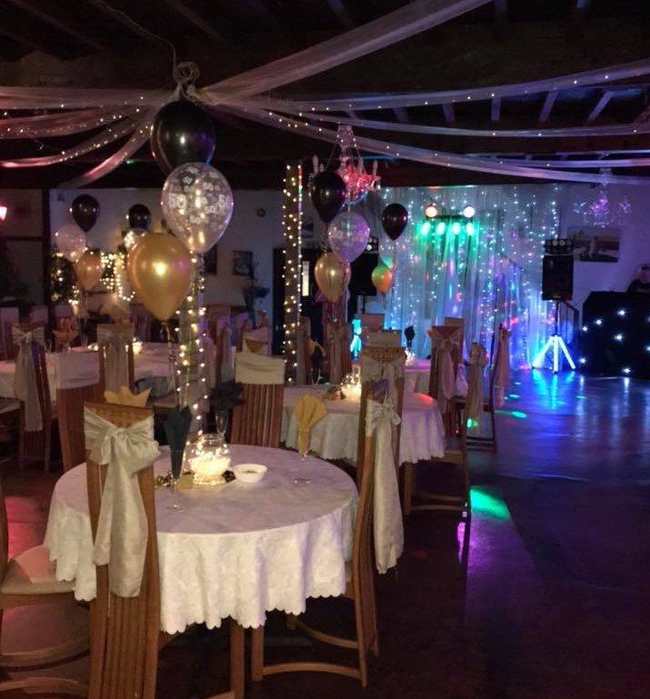 Berni Inn function room and wedding venue Whitworth